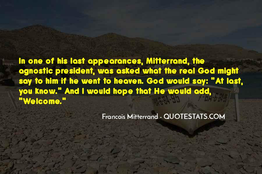 Mitterrand Quotes #429248