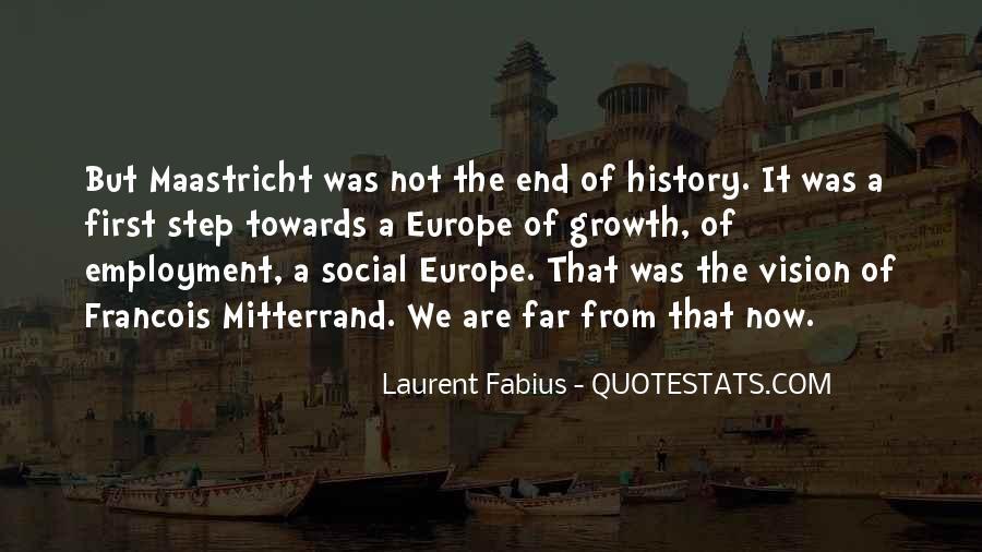Mitterrand Quotes #590255