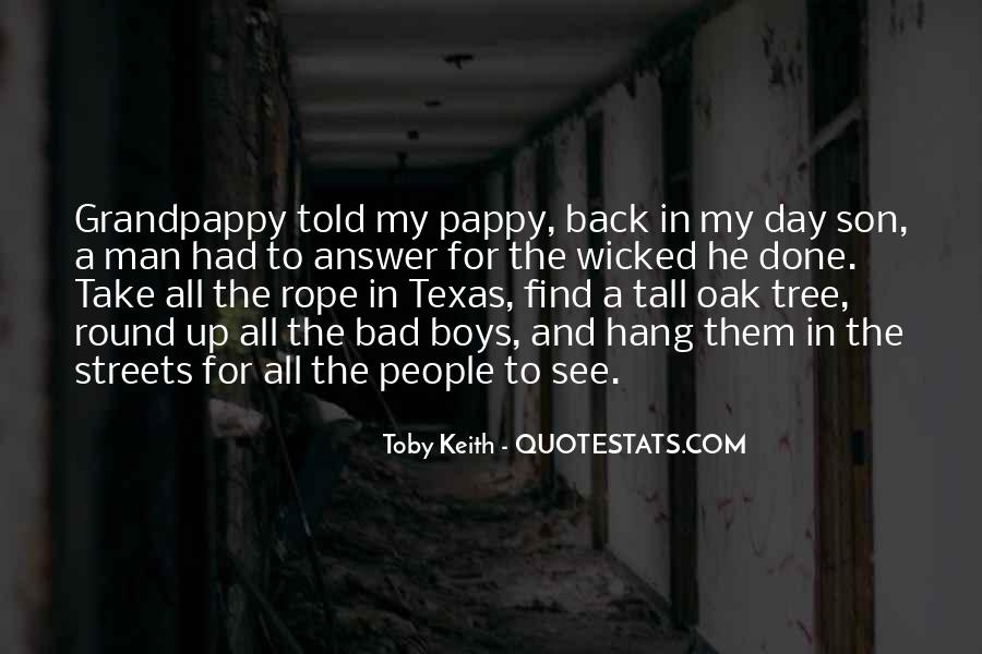 Quotes About Tall Boys #1496543