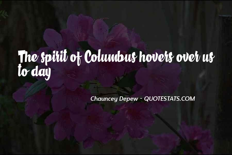 Quotes About Columbus Day #1507045
