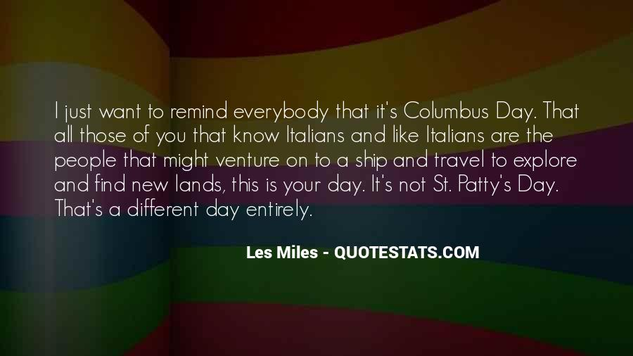 Quotes About Columbus Day #194469