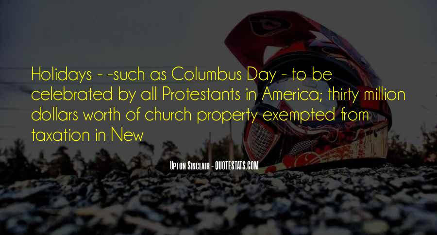 Quotes About Columbus Day #897878