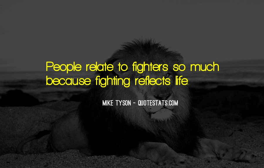 Mma Fighting Quotes #1161758