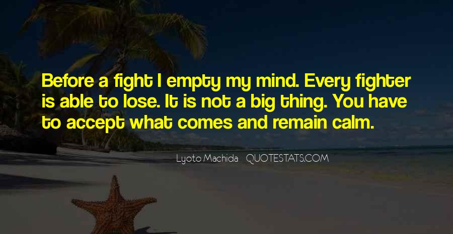Mma Fighting Quotes #1263050