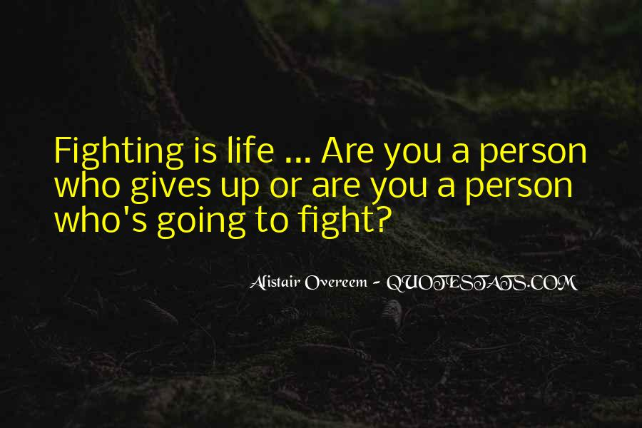 Mma Fighting Quotes #1468764