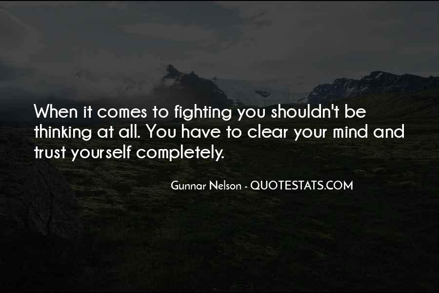 Mma Fighting Quotes #185605