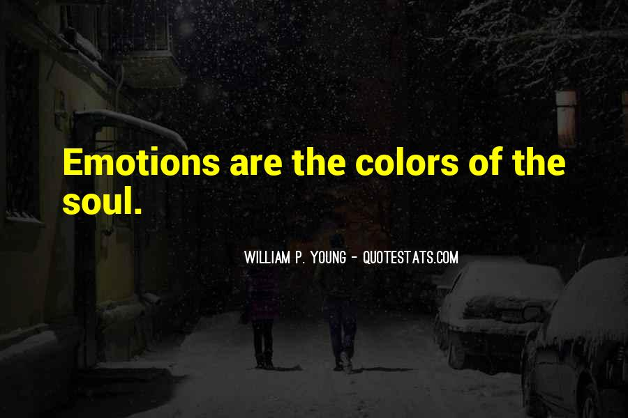 Quotes About Colors And Emotions #1034272