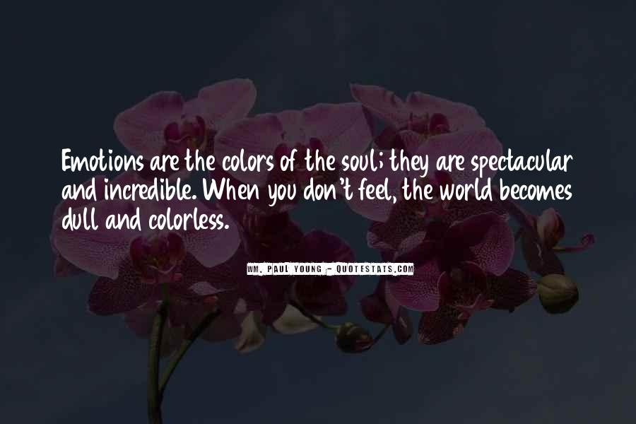 Quotes About Colors And Emotions #1137785
