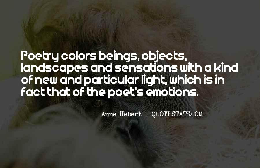 Quotes About Colors And Emotions #1274491