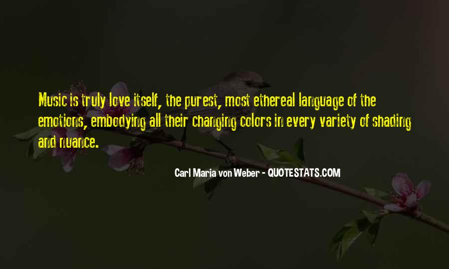 Quotes About Colors And Emotions #1594404