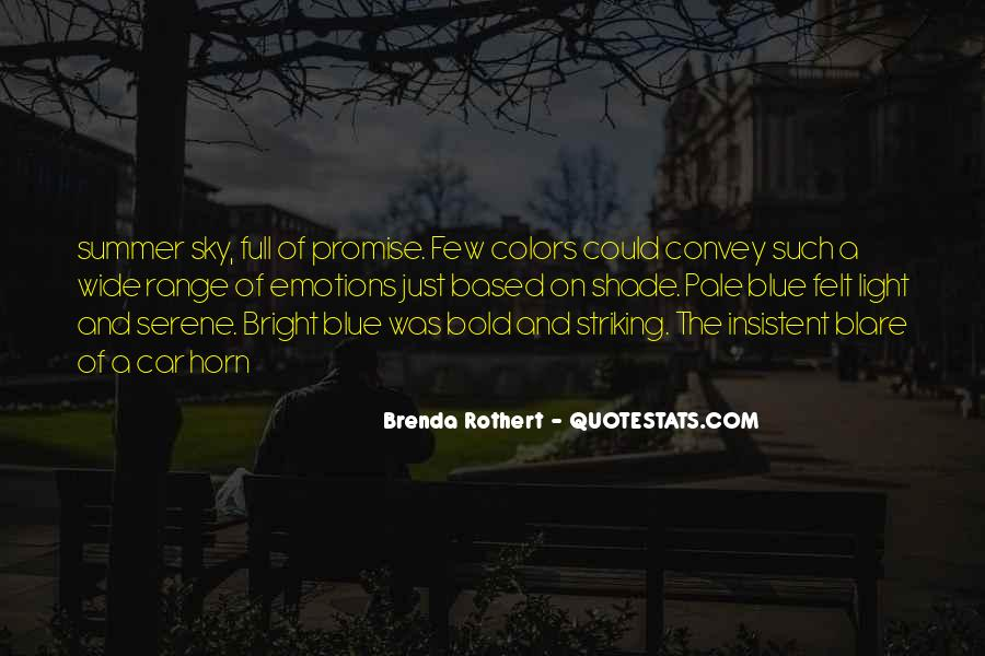 Quotes About Colors And Emotions #1632268