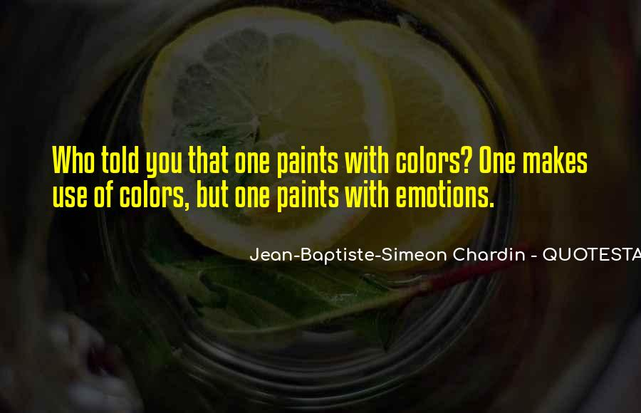 Quotes About Colors And Emotions #1693502