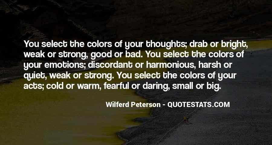 Quotes About Colors And Emotions #714139