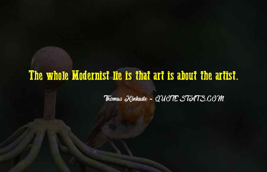 Modernist Art Quotes #1822929