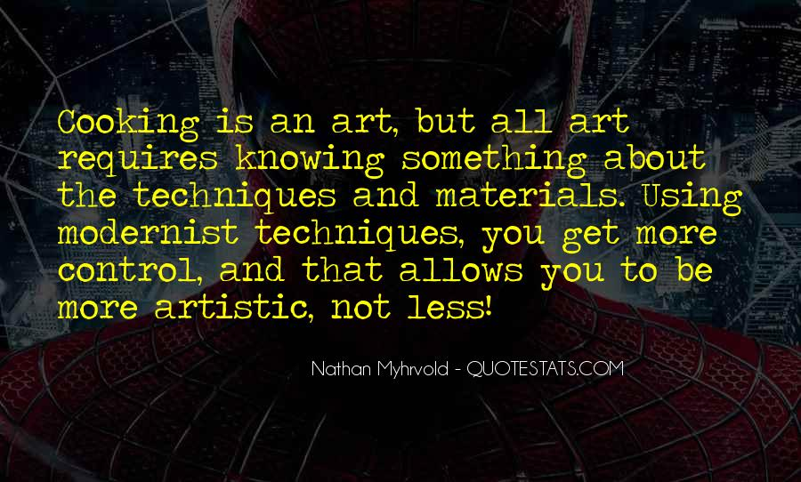 Modernist Art Quotes #324289