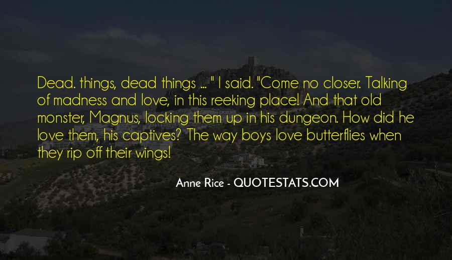 Quotes About Talking To The Dead #1215543