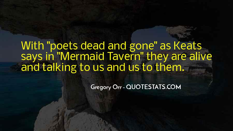 Quotes About Talking To The Dead #1421335