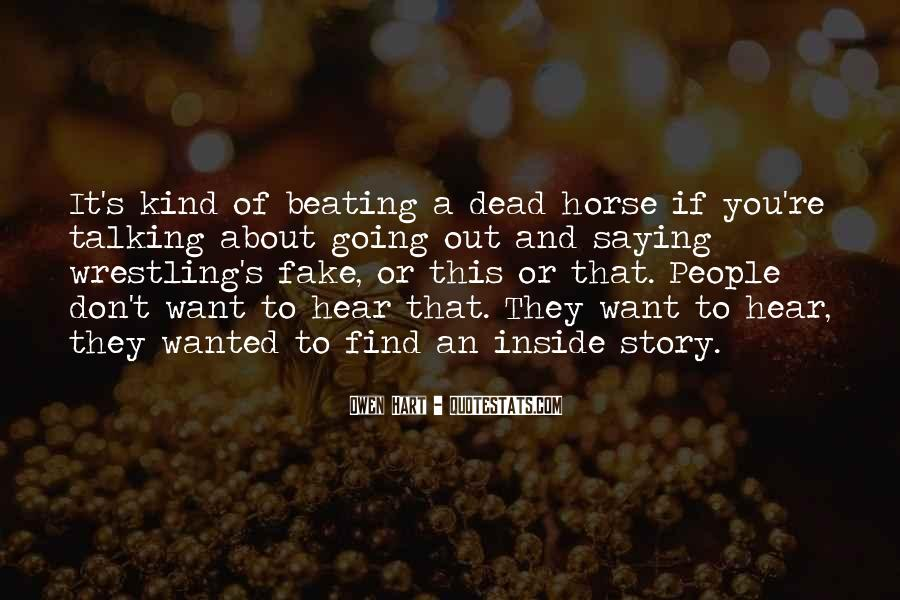Quotes About Talking To The Dead #1647934