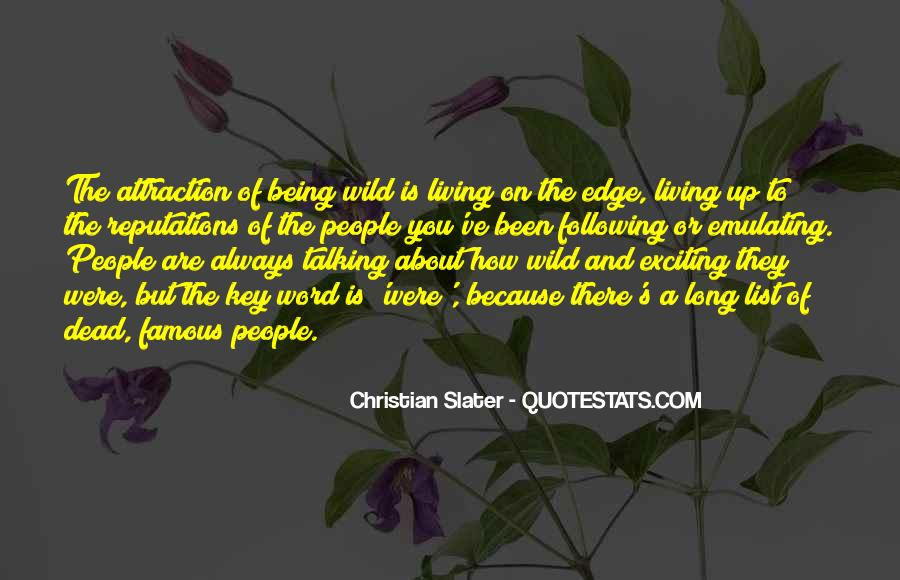 Quotes About Talking To The Dead #996467