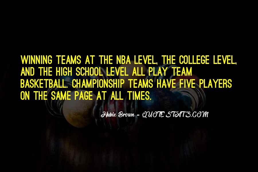 Quotes About College Basketball #1057311