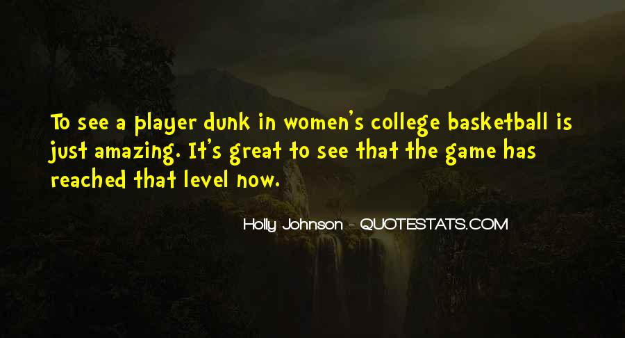 Quotes About College Basketball #1205503