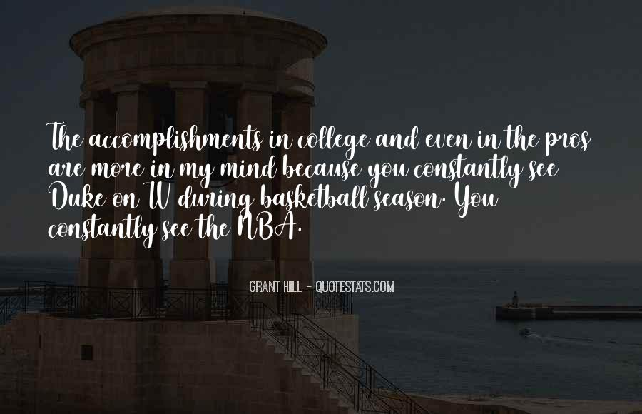 Quotes About College Basketball #1311518