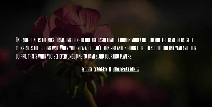 Quotes About College Basketball #155984