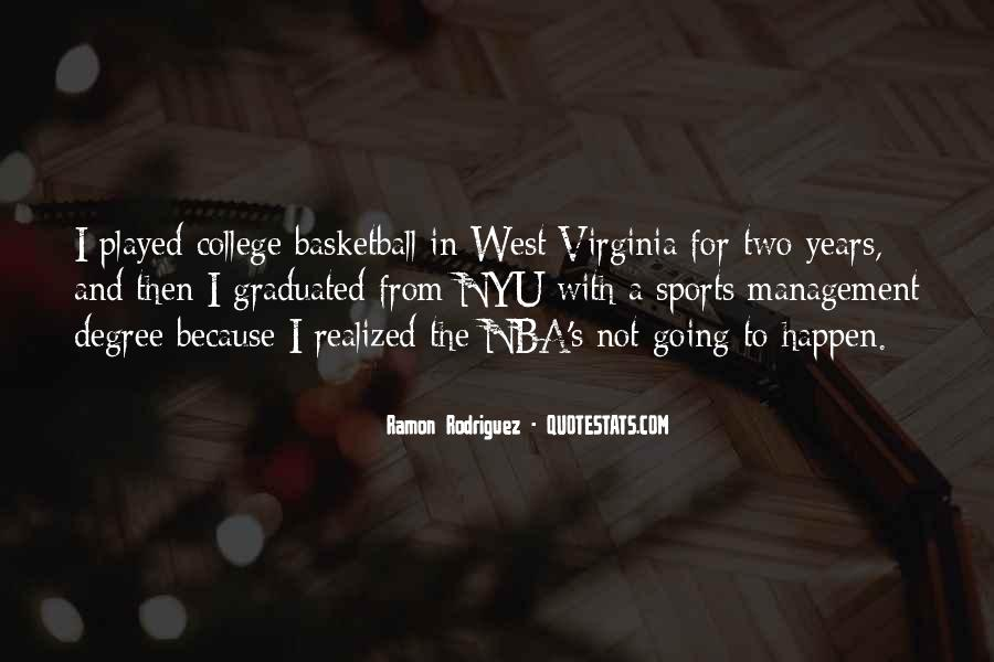 Quotes About College Basketball #1582364