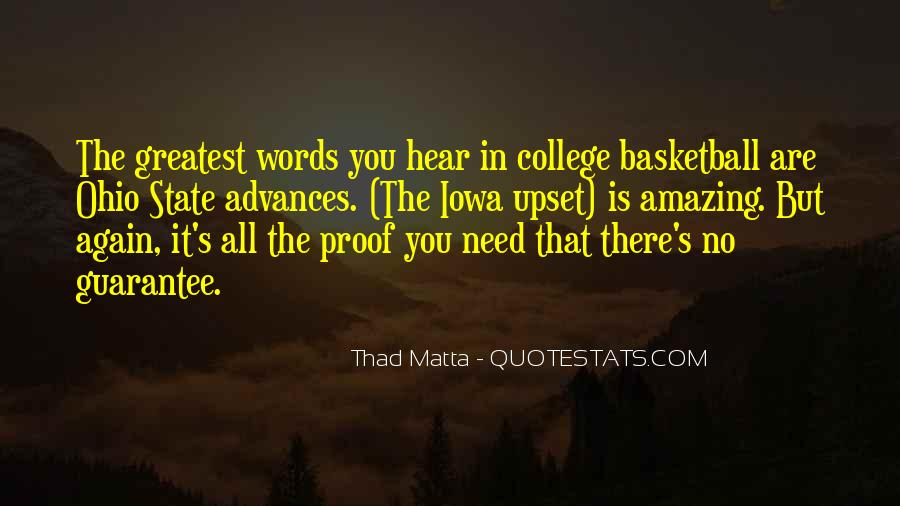 Quotes About College Basketball #172409