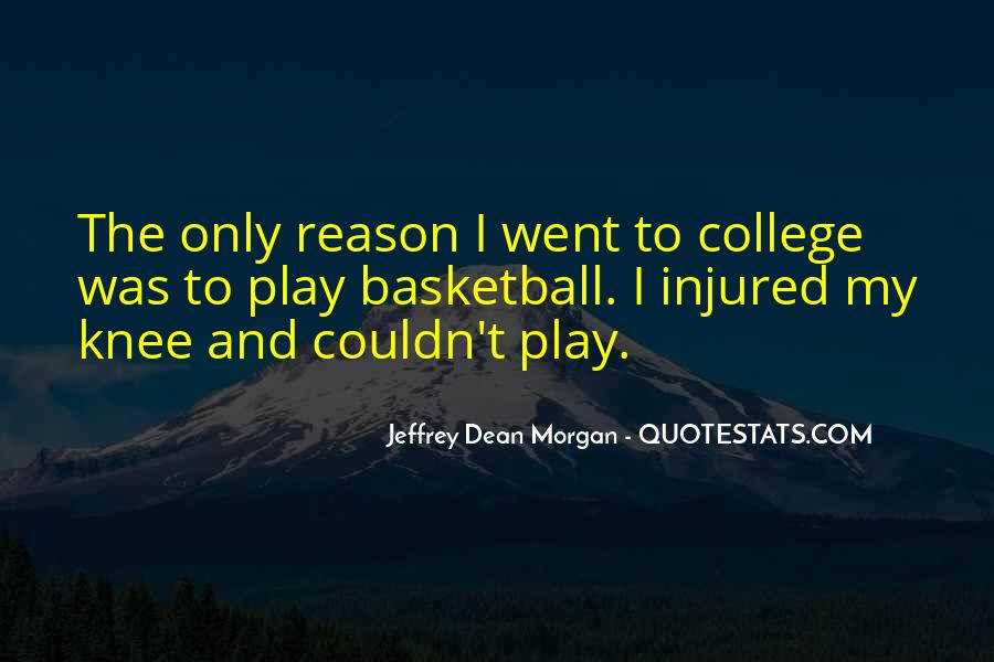 Quotes About College Basketball #336929