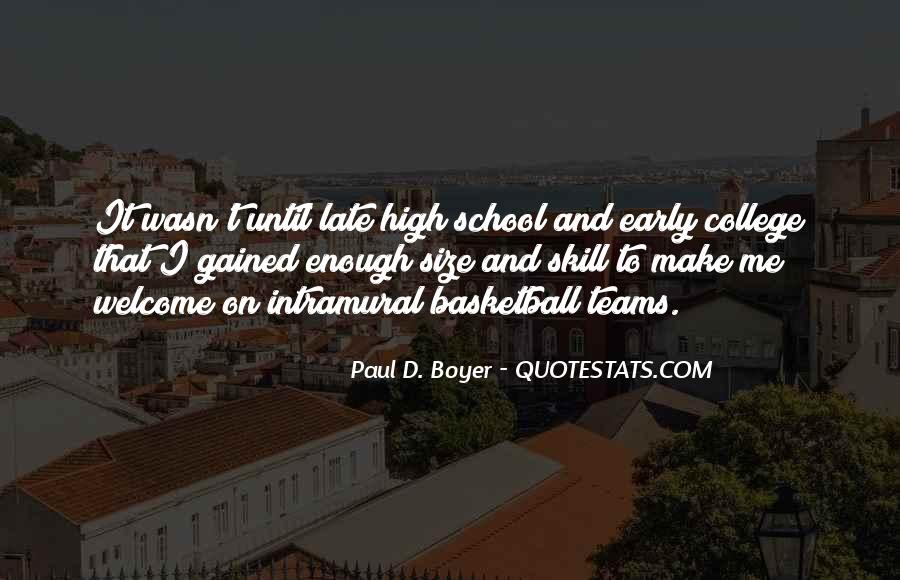 Quotes About College Basketball #456392