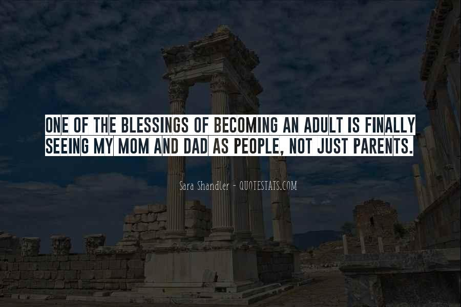 Mom And Dad Inspirational Quotes #118804
