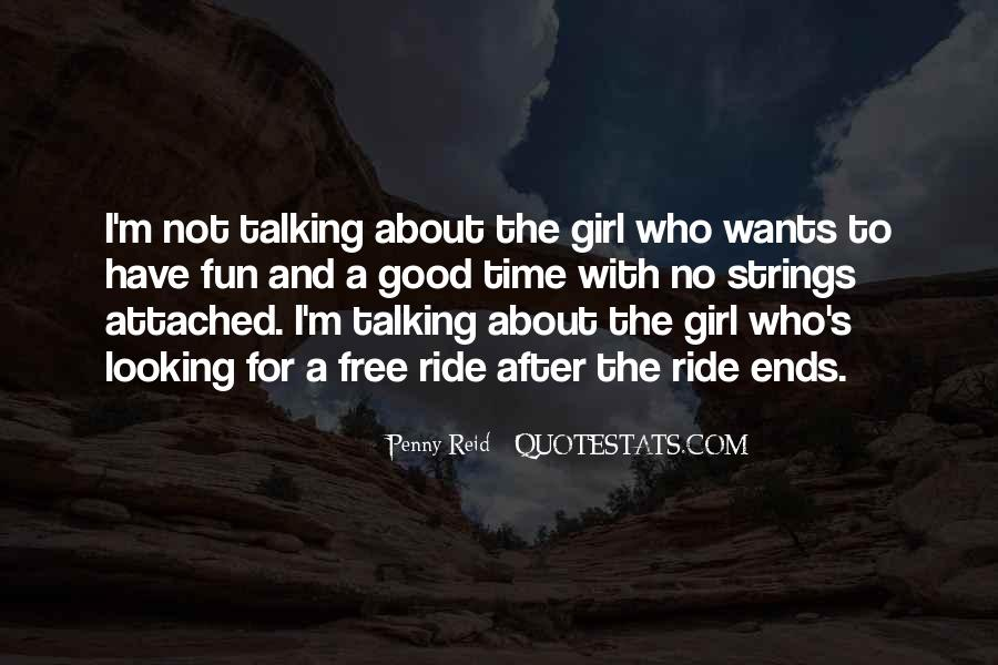 Quotes About Talking To A Girl #1158915