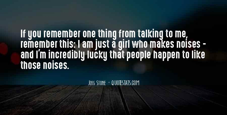Quotes About Talking To A Girl #1342755