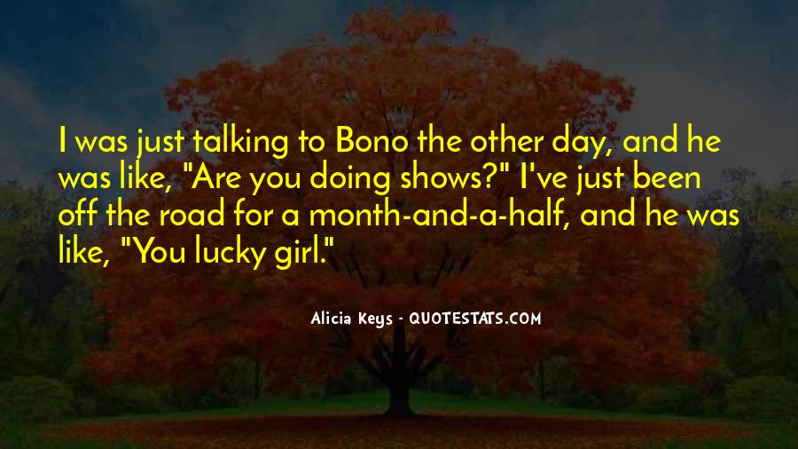 Quotes About Talking To A Girl #1696566