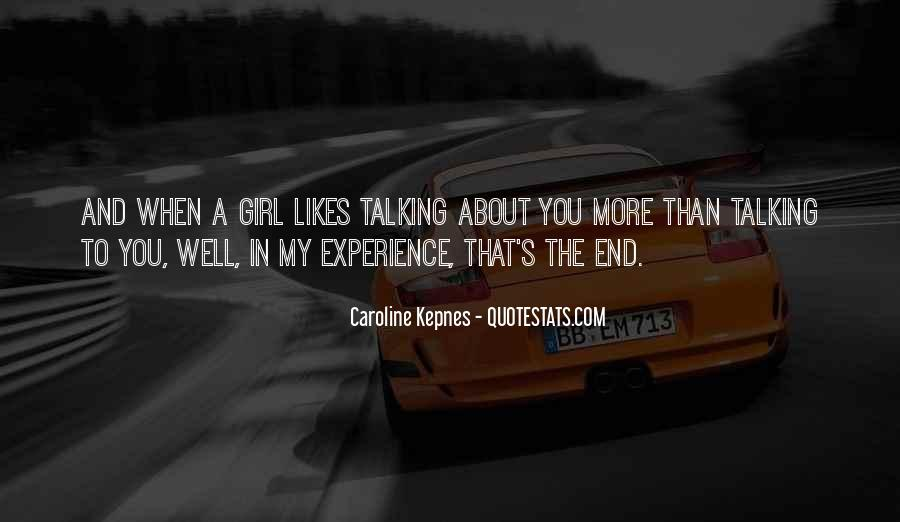 Quotes About Talking To A Girl #1717001