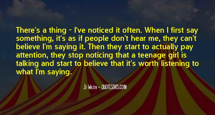 Quotes About Talking To A Girl #685670