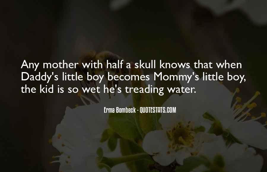 Mommy And Boy Quotes #298649