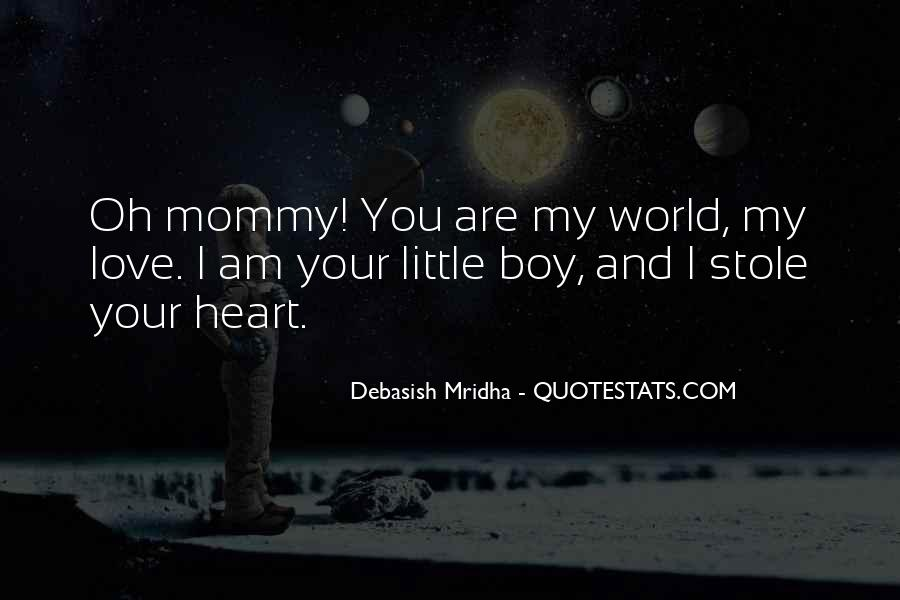 Mommy And Boy Quotes #538241