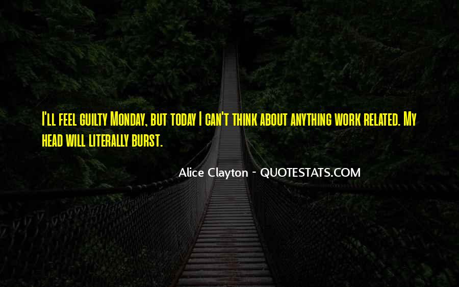 Monday Off Work Quotes #374255