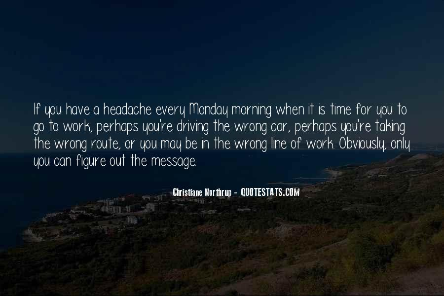 Monday Off Work Quotes #41694