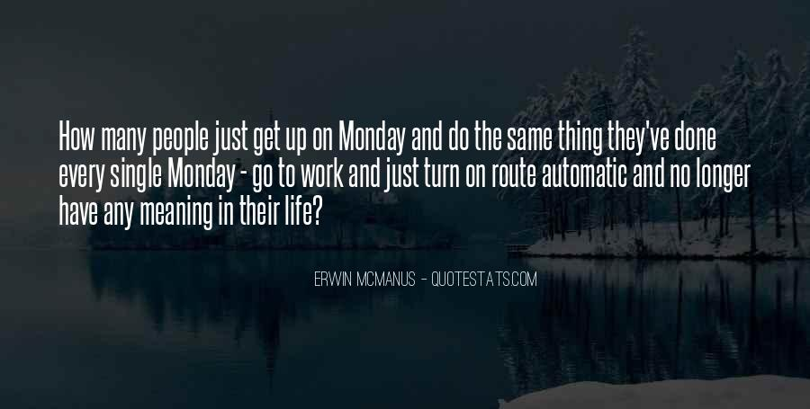 Monday Off Work Quotes #733368