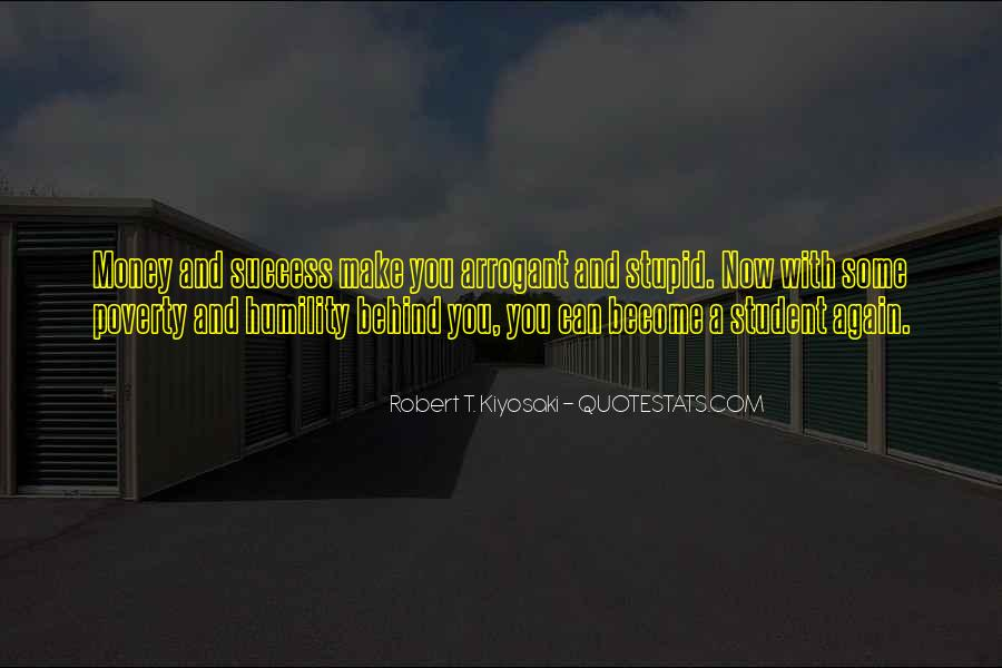 Money And Humility Quotes #1039003