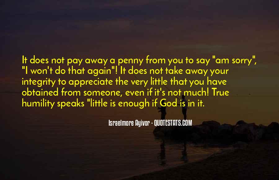 Money And Humility Quotes #104073