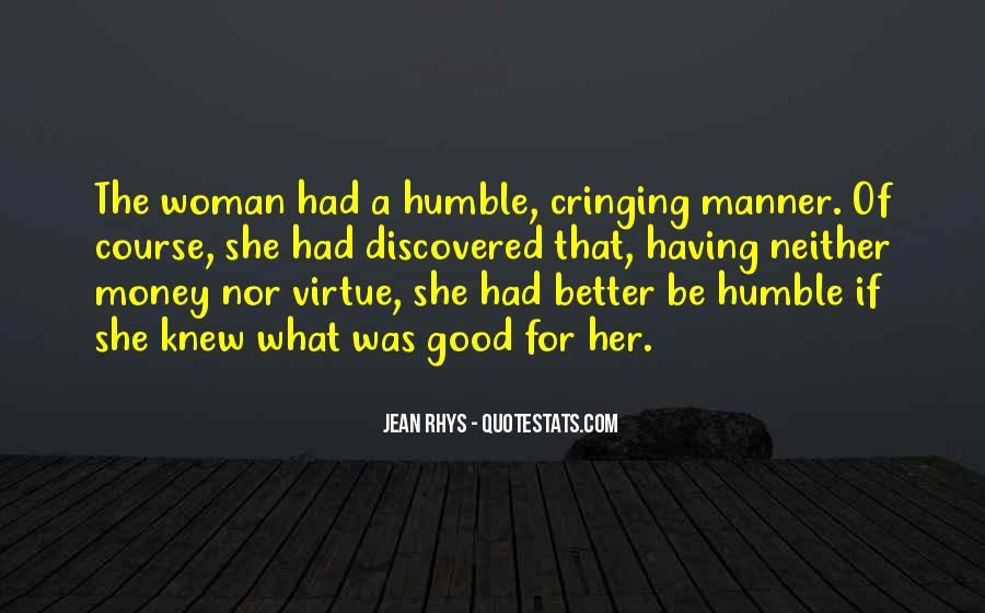 Money And Humility Quotes #838437