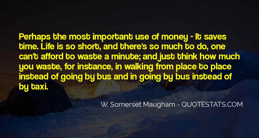 Money Important In Our Life Quotes #123697
