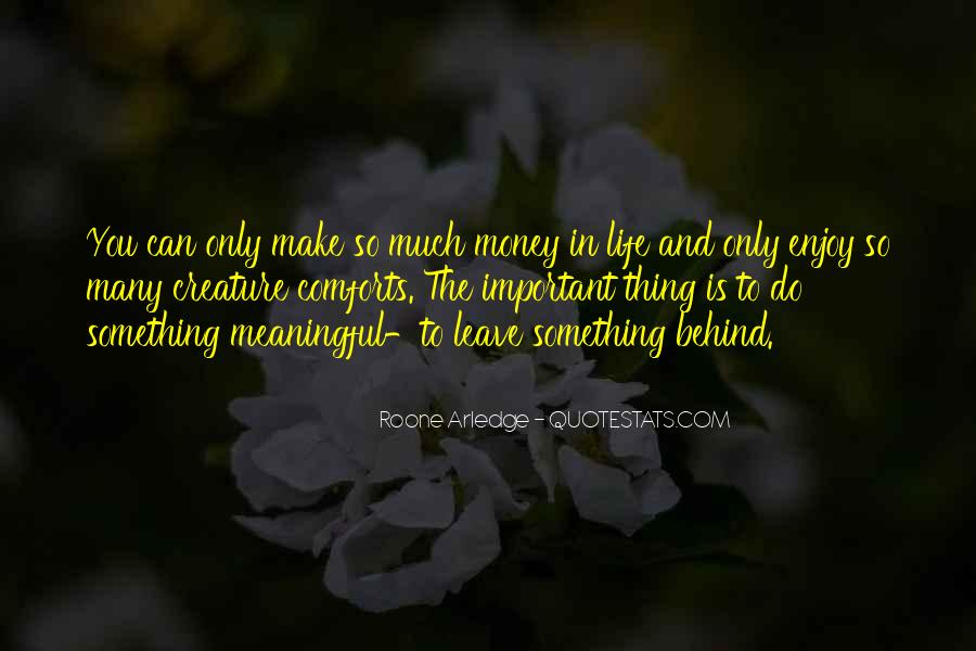 Money Important In Our Life Quotes #166147
