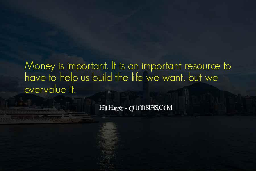 Money Important In Our Life Quotes #319085