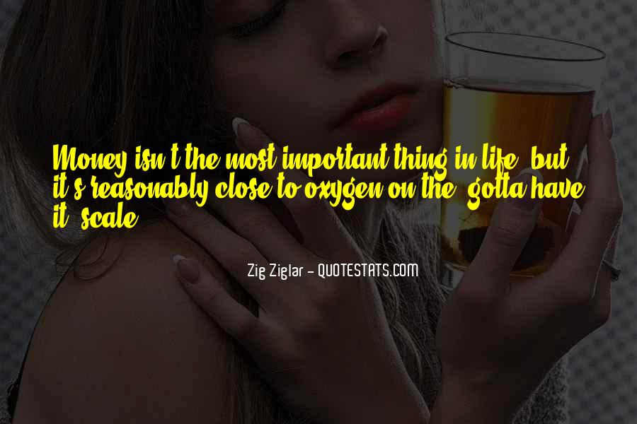 Money Important In Our Life Quotes #710009