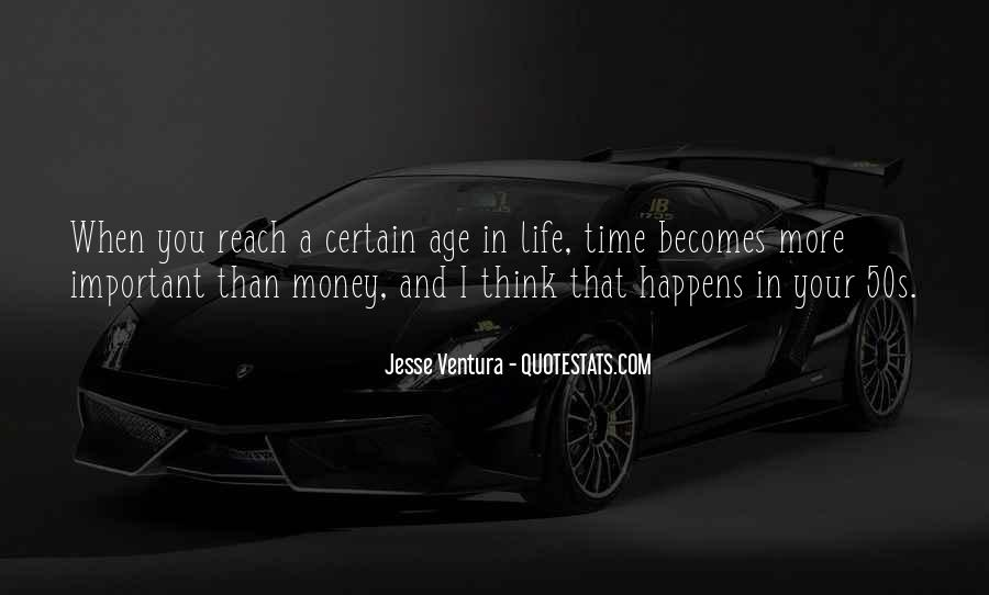 Money Important In Our Life Quotes #856250